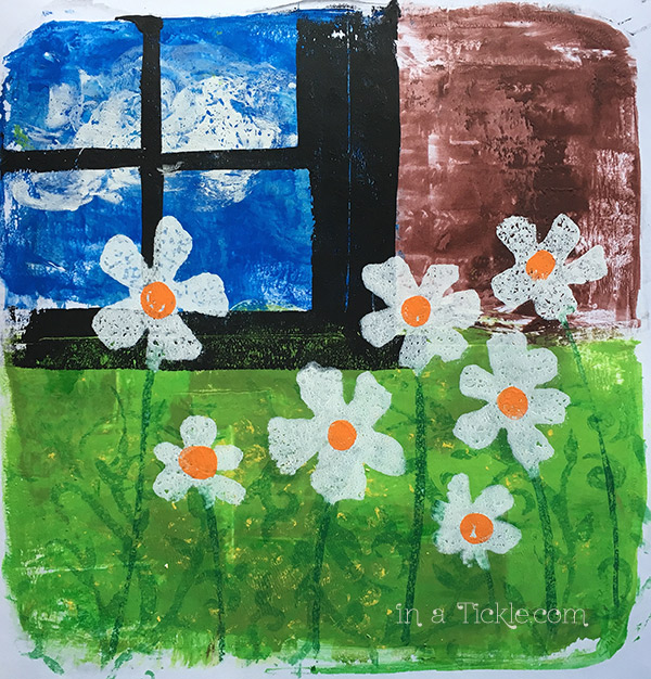 _Gelatin-Print-Daisies-window